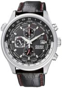 Citizen Watch Red Arrows Eco Drive World Time Chronograph CZ-349