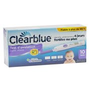 ClearBlue Test of Ovulation Digital 2 hormones box of 10