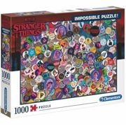 Clementoni Stranger Things Impossible Puzzle 1000 Piece, Multicoloured, Age 10 +