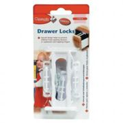 Clippasafe Drawer & Cupboard Child Safety Locks 3 Pack