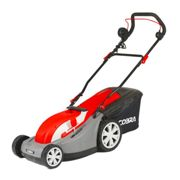 """Cobra 13"""" Electric Lawnmower with Rear Roller"""