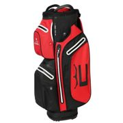 Cobra Golf Mens Red, Black and White Waterproof Ultradry Pro Golf Cart Bag, Size: One Size | American Golf | American Golf