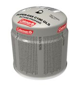 Coleman Injection GAS Cartridge GLong-Sleeve 190g Grey, Size One Size - Fuel and Fuel Bottles, Color Grey