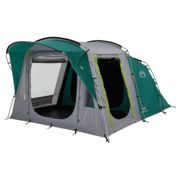 Coleman Oak Canyon 4 Family Tunnel Tent - Green/Grey
