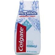Colgate Whitening Anticavity Fluoride Toothpaste Crystal Mint, 4.6 oz (130 g)