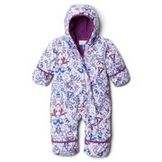 Columbia Snuggly Bunny Bunting Jumpsuit 6-12 Months Pale Lilac Blooming Dot Print