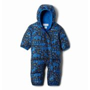 Columbia Snuggly Bunny Bunting - Overall - Kids Bright Indigo Fiercesome print 6 - 12 M