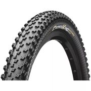"Continental Cross King ProTection Folding MTB Tyre - Black - 26"", Black"