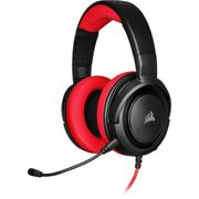 Corsair HS35 Wired Stereo Gaming Headset w/Microphone - Red