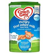 Cow & Gate Infant Milk for Hungrier Babies from Birth - 6 Months 800g