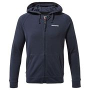 """Craghoppers Boys & Girls NosiLife Ryley Wicking Full Zip Hoodie Top Blue Navy 5-6 years - Chest 23.25-24"""" (59-61cm)"""