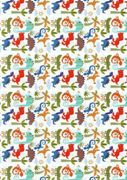 Creative Paper DINO and friends, DIN A4 300 g / m2 8 sheets, 307.867-00