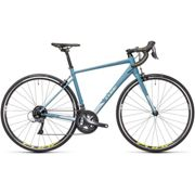 Cube Axial WS Road Bike (2021) - 53cm Greyblue - Lime   Road Bikes Greyblue - Lime