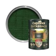 Cuprinol 5092438 Ducksback 5 Year Waterproof for Sheds & Fences Forest Green 5 Litre