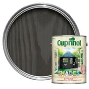 Cuprinol Garden shades Black ash Matt Wood paint 5L
