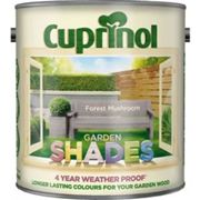 Cuprinol CUPGSFM25L 2.5 Litre Garden Shades Paint - Forest Mushroom