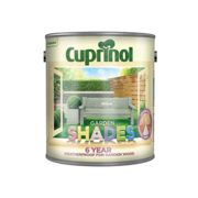 Cuprinol Shades 6YR WILLOW Fence Paint Protects Rough Sawn,Shed & Fences 2.5L
