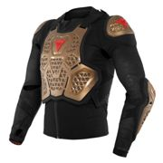 Dainese MX2 Protector Jacket, black-yellow, size M
