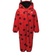 DARE 2B Bambino Snowsuit Red - Ski onepiece - Red - size 12/18 mois 12/18 mois