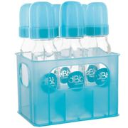 dBb Remond door - Turquoise + 6 bottles in glass 240 ml bottles