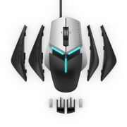 Dell Alienware AW958 Elite Gaming Mouse, Customisable AlienFX Lighting, 9/13 Programmable Buttons, Extended Grip Thumb Support and Full...