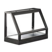 DesignHouseStockholm - Greenhouse Mini Conservatory - ash dark grey/lacquered/only for indoor use/48x34x24cm