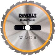 DeWalt Construction Circular Saw Blade 136mm 24T 10mm