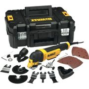 DeWALT DEW315KT-GB Oscillating Multi-tool Corded 300 W 240 V Brushed