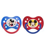 Dodie lollipop anatomical Mickey Silicone + 6 M A63 set of 2