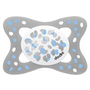 Dodie Anatomical Silicone Pacifier +6m Golden Blue B1
