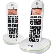 Doro Telephone 100 W White 2 Pieces