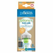 Dr Browns Options+ Anti-Colic Glass Bottle 150ml (0 month+)