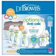 Dr Brown's Natural Flow Options+ Newborn Gift Set