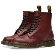 Dr Martens - Cherry Red Smooth 1460 Boots - 40