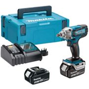 """DTW190RTJ 18V 1/2"""" Impact Wrench, with 2X 5.0AH Batteries"""