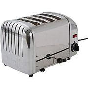 Dualit Toaster 4 Slices Stainless Steel Vario 2200W Silver