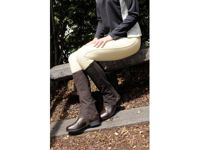 Dublin Easy-Care Half Chaps - Adult - Brown - Extra Large
