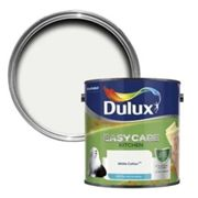 Dulux Easycare Kitchen White cotton Matt Emulsion paint 2.5L