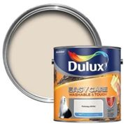 Dulux Easycare Nutmeg white Matt Emulsion paint 2.5L
