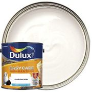 Dulux Easycare Washable & Tough Matt Emulsion Paint - Pure Brilliant White 2.5L