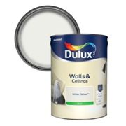 Dulux Luxurious White cotton Silk Emulsion paint 5L