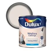 Dulux Nutmeg white Matt Emulsion paint 2.5