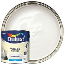 Pricehunter.co.uk - Price comparison & product search. Product image for  white cotton dulux