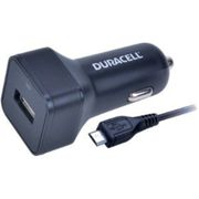 Duracell In Car 2.4A Charger + 1M Micro USB Cable (DR5032A)