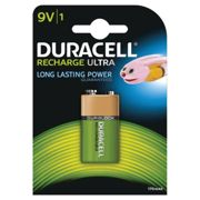 Duracell Mn1604 (9V) Rechargeable Batteries Nimh (Pk-1)
