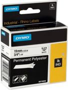DYMO 18484 tape black on white Original S0718220