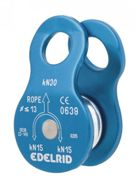 Edelrid Turn Blue, Size One Size - Unisex Climbing Accessory, Color Blue