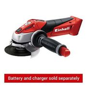 Einhell Cordless Angle Grinder TE-AG 18 Li - Solo