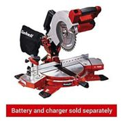Einhell TE-MS 18/210 Li-Solo 3000 RPM, Chop and mitre saw red/black, 3 dB, 91.2 dB, 3 dB, 104.2 dB, Battery, Lithium-Ion (Li-Ion)
