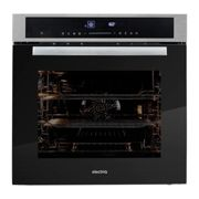 electriQ 65l 9 Function Full Fan Touch Control Single Oven in Stainless Steel
